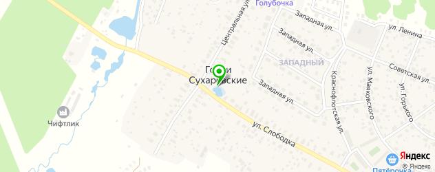 конные клубы на карте Некрасовского
