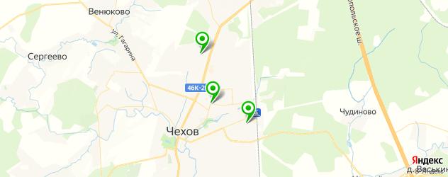 университеты на карте Чехова