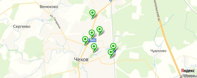 лаборатории анализов на карте Чехова