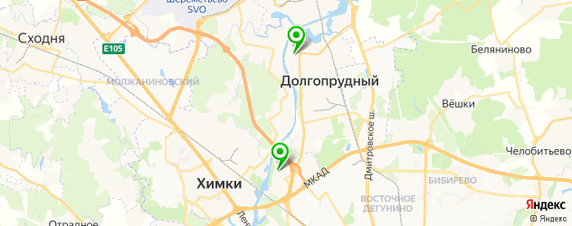 квесты на карте Долгопрудного
