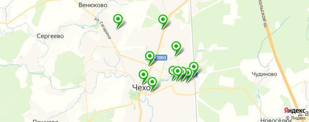 наращивание зубов на карте Чехова