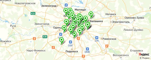 ремонт планшетов на карте Москвы