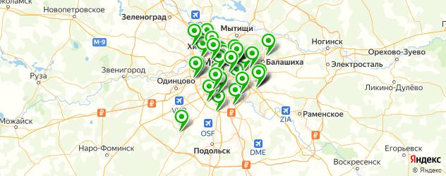 замена аккумулятора смартфона на карте Москвы