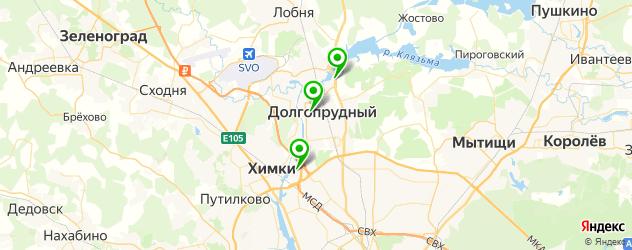 тату салон на карте Долгопрудного
