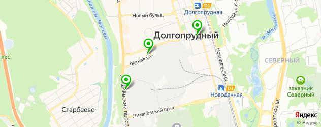 лицеи на карте Долгопрудного