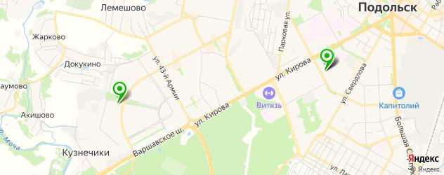 квесты на карте Подольска