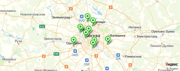 детская урология на карте Москвы