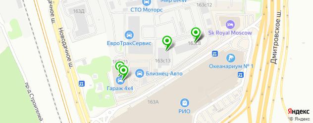 автосервисы на карте Заболотья