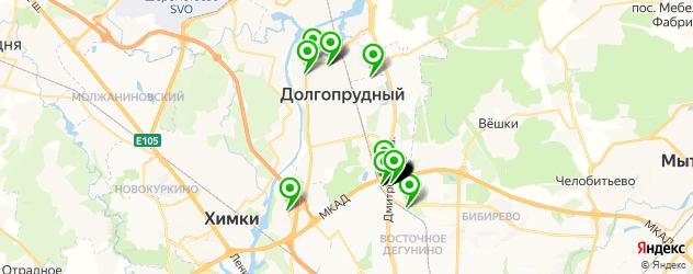 мебельные мастерские на карте Долгопрудного