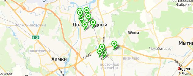 ремонт принтеров на карте Долгопрудного