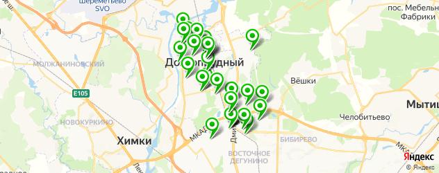 типографии на карте Долгопрудного