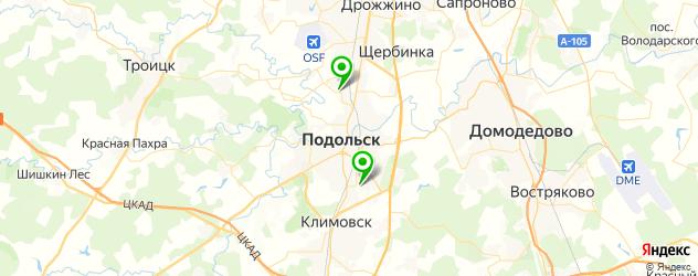 художественные школы на карте Подольска