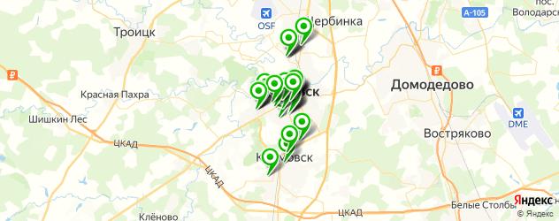 Красота на карте Подольска