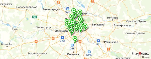 тюнинги ателье на карте Москвы