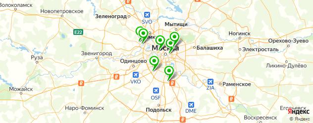 ремонт офисных кресел на карте Москвы