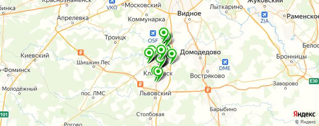 мебельные мастерские на карте Подольска