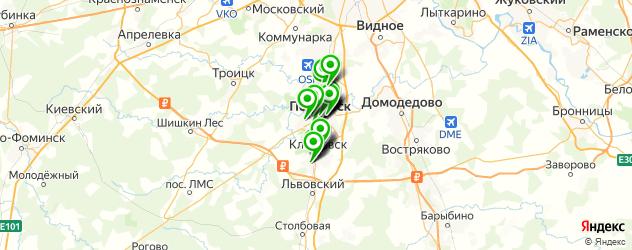 день рождения на карте Подольска