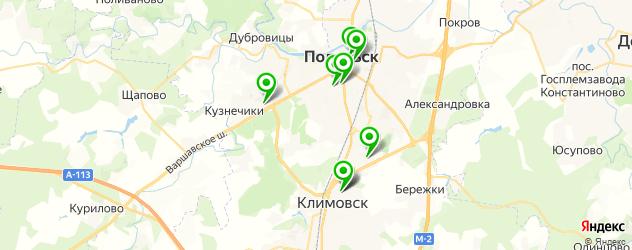 салоны бровей на карте Подольска