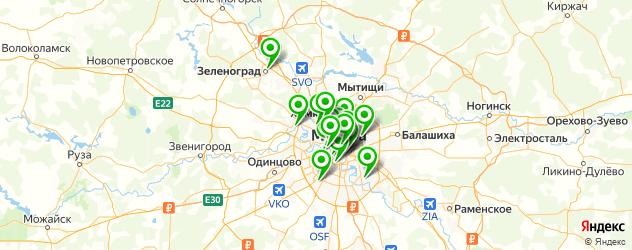 кейтеринговые компании на карте Москвы