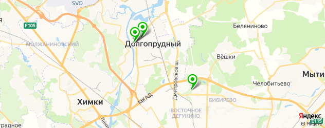 СПА салон на карте Долгопрудного