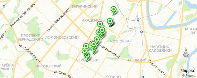 медицинские центры на карте Новочеремушкинской улицы