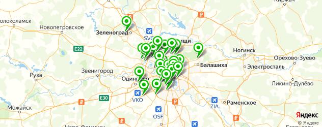 мебельные мастерские на карте Москвы