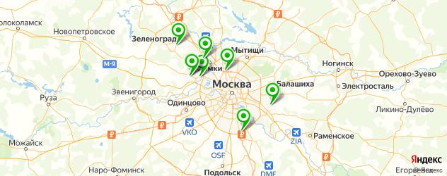 репетитор по алгебре на карте Москвы