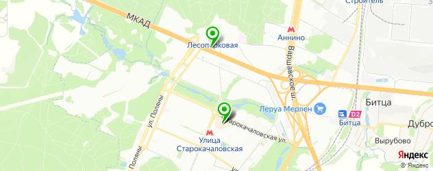 узбекская кухня на карте метро Улица Старокачаловская
