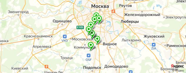 Ремонт пылесосов Самсунг на карте ЮЗАО