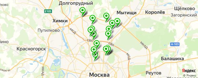 мойка радиатора автомобиля на карте СВАО