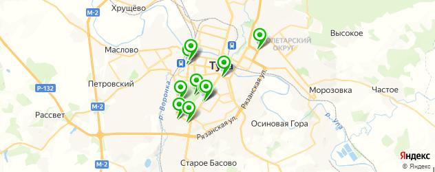 квесты на карте Тулы