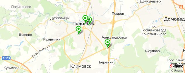 японские рестораны на карте Подольска