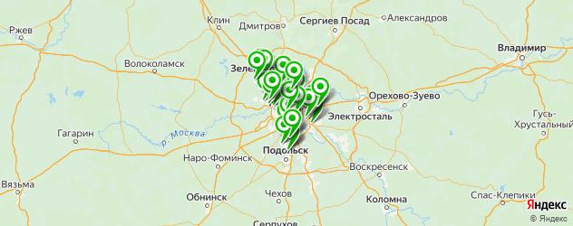 русские пироги на карте Москвы