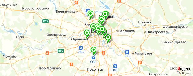 белорусская кухня на карте Москвы