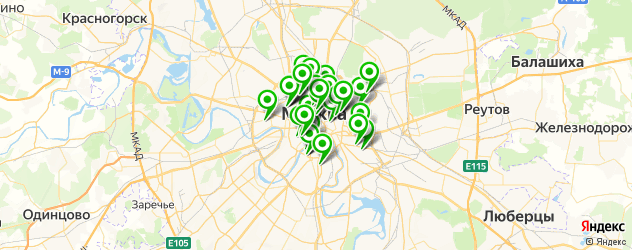 багетные мастерские на карте ЦАО