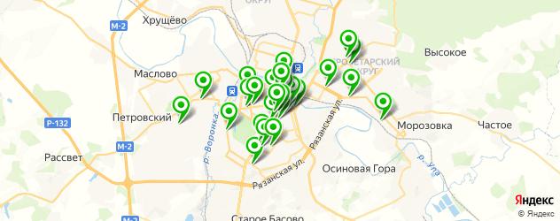 свадебные агентства на карте Тулы