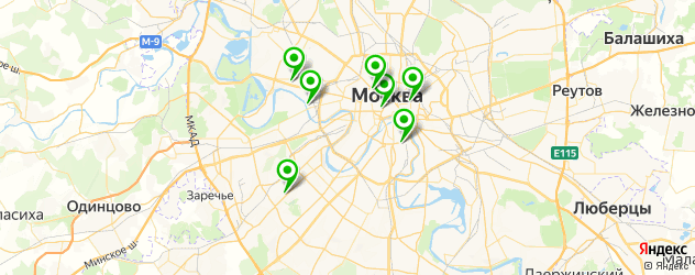 австралийская кухня на карте Москвы