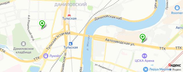 паллиативные центры на карте Москвы