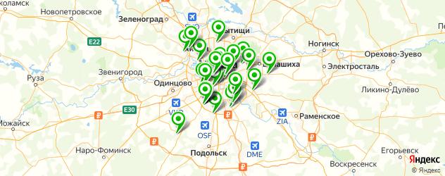 замена батареек в часах на карте Москвы