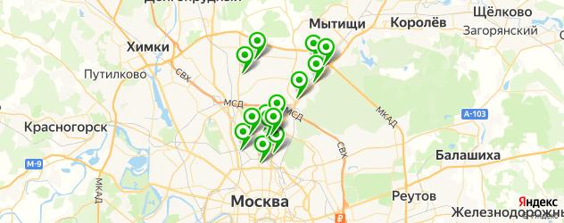 художественные школы на карте СВАО