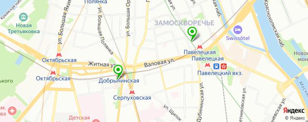 Ремонт iPhone 6 на карте метро Третьяковская
