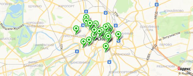 бизнес-ланч на карте Москвы