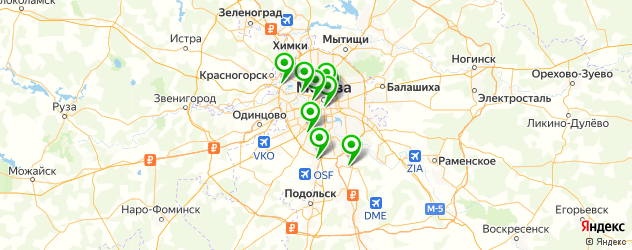 уйгурская кухня на карте Москвы