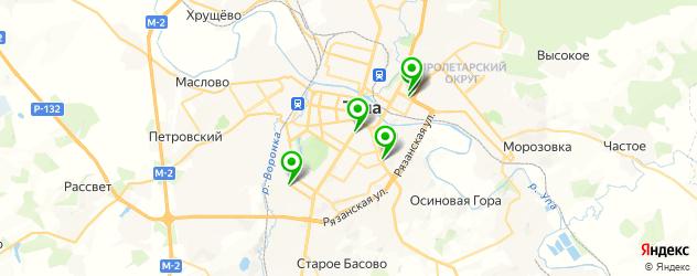 тату салон на карте Тулы