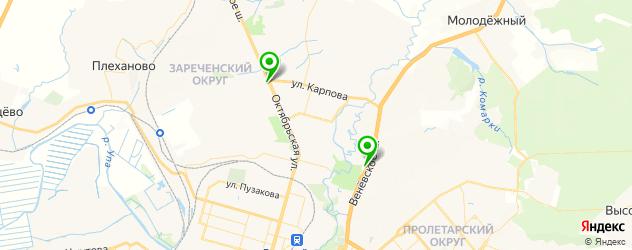 Ремонт электрики Пежо на карте Тулы