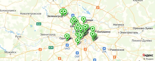 гравировка на металле на карте Москвы