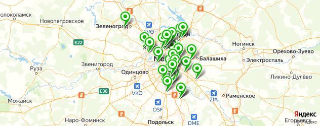ремонт автолюков на карте Москвы
