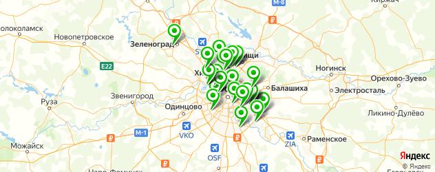 печать фотообоев на заказ на карте Москвы