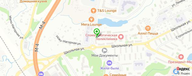 театры на карте Видного