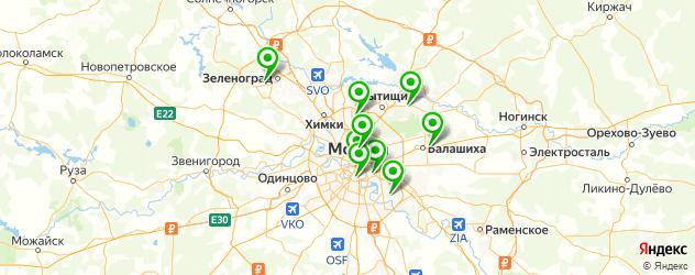 художественные колледжи на карте Москвы
